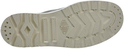 Palladium Pampa Hi, Sneaker a Collo Alto Donna Blu (Gray Mist/marshmallow K92)