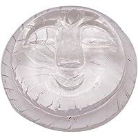Crystal Clear Full Moon Feng Shui Natural Energy Table Dekor-Geschenk-Auto-Dekor preisvergleich bei billige-tabletten.eu