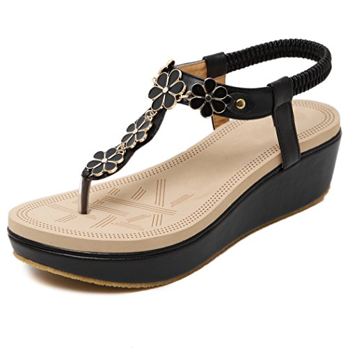 Getmorebeauty Update - Zapatos de Vestir de Material Sintético para Mujer Flor Morada yBFyG239b7