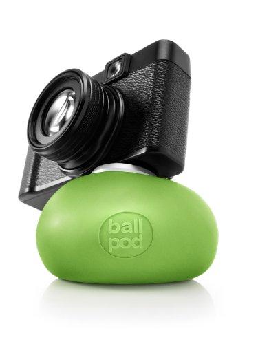 BallPod Flexibler Ball mit Stativhalterung für Kameras und Smartphones (8 cm), Grün (Morphs Passt)