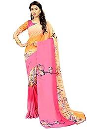 Saree By Saree Mandir Georgette Saree With Blouse Piece
