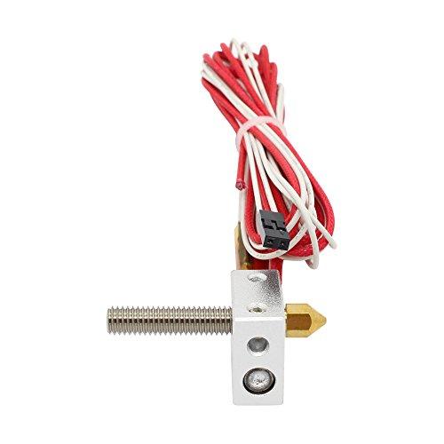 Anycubic MK8 Extrusora Hotend de Calefacción para el impresora 3D fil