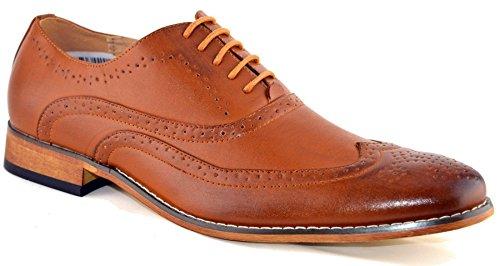 Chaussures à lacets avec doublure en cuir pour homme Taille 39-47 peau