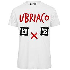 Idea Regalo - CHEMAGLIETTE! T-Shirt Divertente Uomo Maglietta con Stampa Addio al Celibato Ubriaco Si No Tuned, Colore: Bianco, Taglia: 2XL