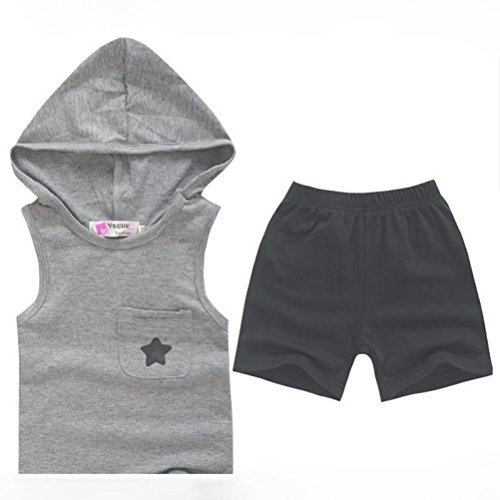 Internet Baby Kids Outfits Set Clothing Tops+Pants 1-6 Years