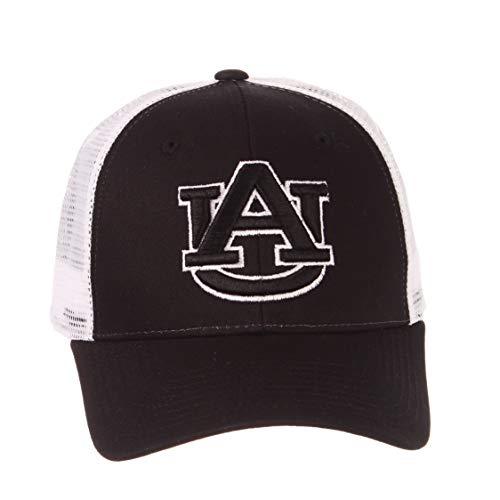 Auburn University Tigers AU Black Big Rig Mesh Top Trucker Mens/Boys/Womens Baseball Hat/Cap Size Adjustable -