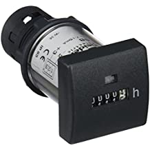 Schneider Electric XB5DSB Contador Horario, Pantalla 5 Dígitos, Mecánica 12-24 V Cc