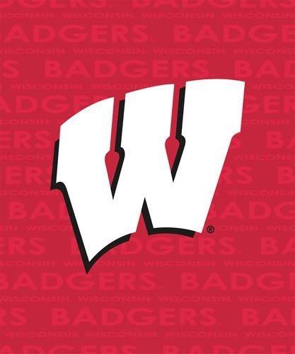 Wisconsin Badgers Classic Fleece Decke/Überwurf–NCAA College Leichtathletik von Logo Stühle