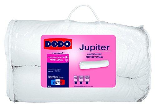 Dodo 100780140 JUPITER Traversin Coton Blanc 140 cm
