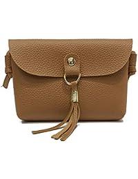 Cenlang Handbags Women Purses,Fashion Retro Wallet —Small Handbag Mobile Bag,Fringed Leather