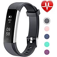 Letsfit Fitness Tracker, Heart Rate Monitor Watch with Sleep Monitor and Step Counter, Waterproof Activity Tracker with Calorie Counter, Pedometer Watch for Kids Women Men