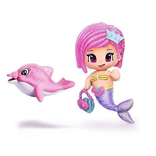 PINYPON Sirene et dauphin - Rose