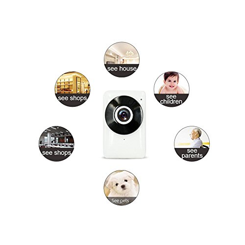 PeiteMadun Motion Detection ip Cam wifi, Baby/Pet monitor Home IP-Kamera 720P HD wifi Security Kamera for iphone samsung