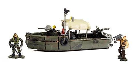 Mega Bloks - DPB56 - Call of Duty - Jeux de construction - Bateau Fluvial de Guerre