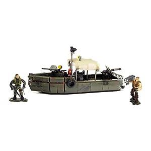 Mattel Mega Bloks DPB56 Call of Duty – Riverboat Raid, BAU und Konstruktionsspielzeug