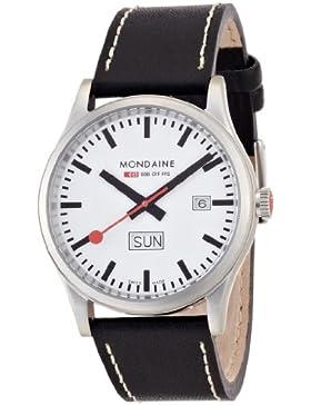 Mondaine Herren-Armbanduhr SBB Sport Day Date 41mm Analog Quarz A667.30308.16SBB