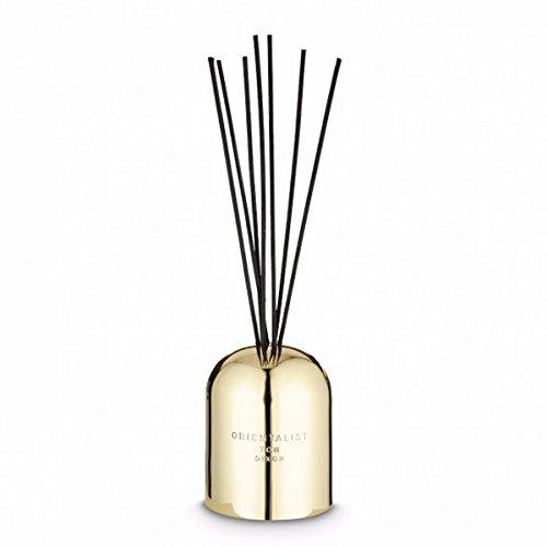 Tom Dixon - Scent - Diffusore Orientalist - Profumo/Deodorante per Ambienti - Ottone/Nero - H: 26 cm x L: 8 cm x Ø 8 cm
