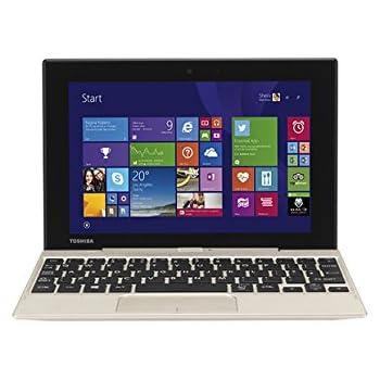 Toshiba 8.9-Inch Satellite Click Mini Full HD Convertible Laptop - Satin Gold, [