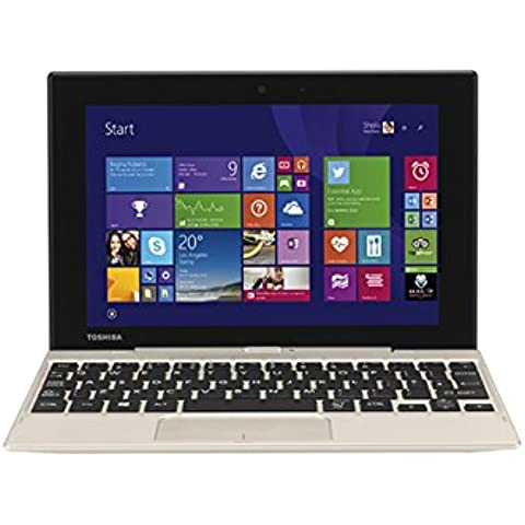 Toshiba 8.9-Inch Satellite Click Mini Full HD Convertible Laptop - Satin Gold, [Importado de UK]