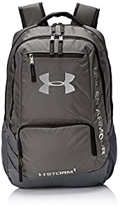 Under Armour UA Hustle Backpack II Mochila, Unisex adultos, Gris (Graphite)