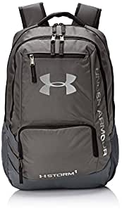 Under Armour Men's Hustle Backpack - Grey/Graphite/Silver, One Size
