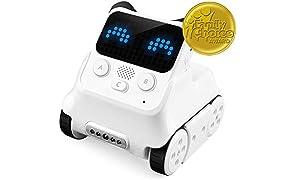 Makeblock Codey Rocky, Robot éducatif Steam, Apprentissage Amusant de la Programmation, Fonctions AI et IOT, Compatible avec Les projets Scratch, Apprentissage du Logiciel et création matérielle