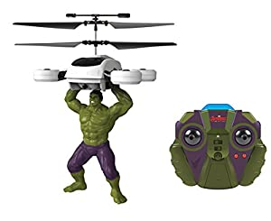 World Tech Toys - Heroes 2 ch Hulk Marvel IR helicóptero, 33191