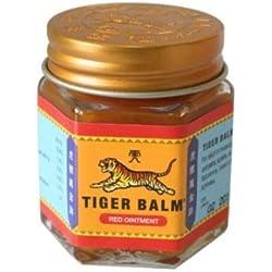 Baume du Tigre Tiger Balm Rouge Véritable Taille au Choix - 30g - Extra Fort 25%