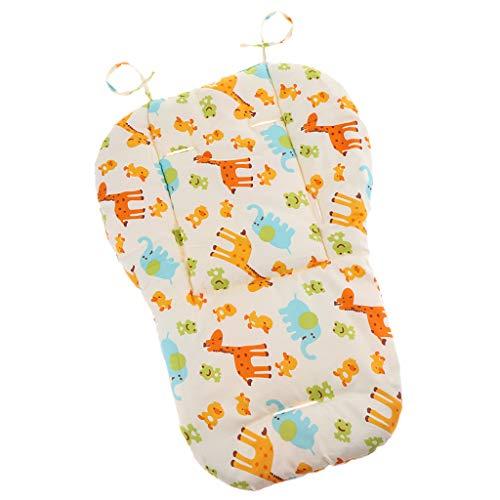 Cojín de Silla Cómodo para Bebé para Protección de Culo, Colchoneta de Silla de Paseo Suave - Multicolor...