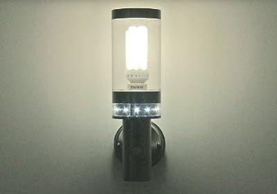 Design Bewegungsmelderleuchte mit LED Orientierungsbeleuchtung Senspole 4 10214 von Kiom bei Lampenhans.de