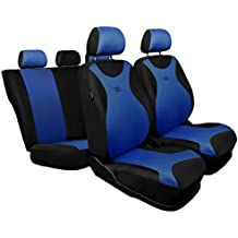 TR-BL Universal Fundas de asientos compatible con PEUGEOT 305 306 307 308