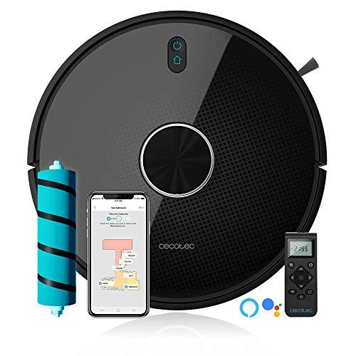 Cecotec Robot Aspirador Conga Serie 4090. 2700 Pa, Gestión y Edición de Habitaciones, App con hasta...