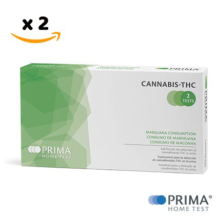PRIMA Home Test - Cannabis Test THC (Urin) - 50 ng/mL - 2 Test