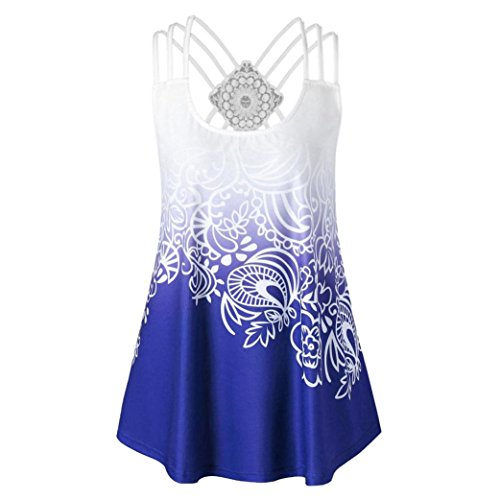 ESAILQ Damen Ultra Damen Pique-Poloshirt Basic(XXL,Blau)