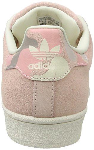 adidas Superstar W, Scarpe da Ginnastica Basse Donna Bianco (Vappnk/vappnk/owhite)