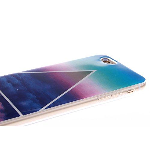 Pour Apple iPhone 6 4.7 pouce Cas, MCHSHOP Ultra-mince TPU Silicone Cover souple Phone Housse Coque de protection pour iPhone 6 4.7 pouce - 1 gratuit Touch Pen (Blanc tête de tigre) Beau À haut talon chaussures