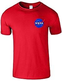 Nasa Space Astronaut Forscher Mens T-Shirt Nerd Aussenseiter