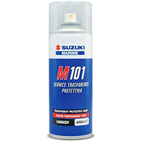 SUZUKI MARINE M 101 Vernice Trasparente Protettiva 0,4 l