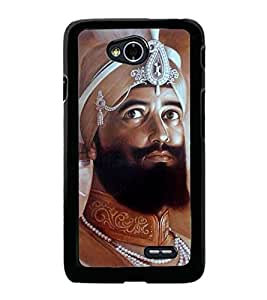 Guru Gobind Singh Ji 2D Hard Polycarbonate Designer Back Case Cover for LG L70