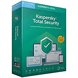 Kaspersky Total Security 2019 (5 Postes / 1 An)