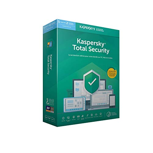 Kaspersky Total Security 2019 (5 Postes / 1 An)|2019|5 appareils|1 AN|PC/Mac/Android|Téléchargem