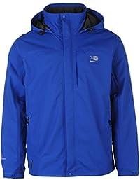 Mens Full Zip Mesh Hooded Waterproof Urban Jacket