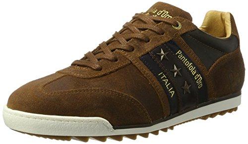 Pantofola D'Oro Herren Imola Clutch Uomo Low Sneaker, Braun (Tortoise Shell), 44 EU