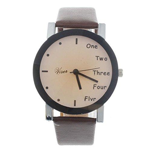 quartz electronic watch. SKY Mujer Neutral Ocio Cartas Simulación De  Movimiento De Reloj De Cuarzo Electrónico Letters Motion Simulation 3e48626bc6cb