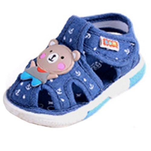 Baby-Sandalen, Kinderschuhe, weiche untere Anti-Rutsch-0-3 Jahre alt C (Schuhe Baby Pedipeds)