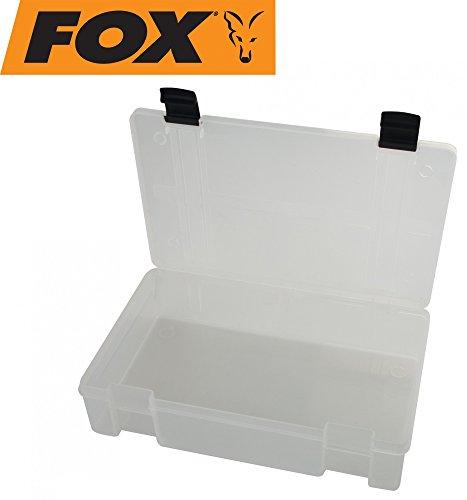 Fox Rage Stack and Store Box full comp large deep Clear Angelbox, Köderbox, Angelboxen für Kunstköder wie Blinker, Spinner, Wobbler, Gummifische, Jigs, Köderboxen, Angelkasten, Angelkiste