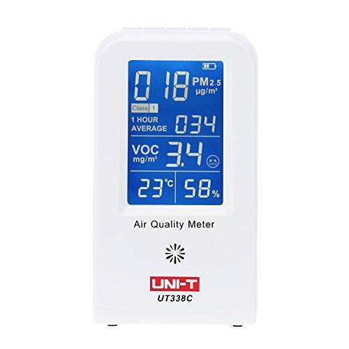 KKmoon détecteur thermomètre hygromètre testeur air Qualité intérieur voc testeur PM2.5 UT-338C