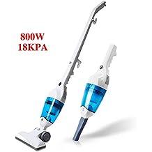 PUPPYOO WP3006 Aspirador Escoba Multifuncional Mini Aspiradora Vertical de Hogar, Limpiador Vertical de Mano,