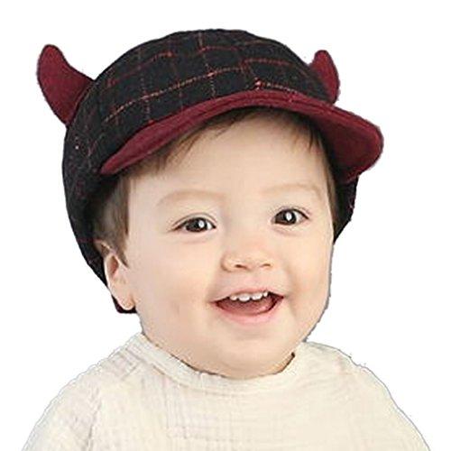 belsen-chapeau-bebe-fille-rouge-rouge-taille-unique