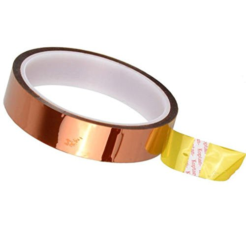 YA-Uzeun Kapton Polyimid Tape BGA 10 mm x 30 m, goldfarben (Bau-einladungen 2.)